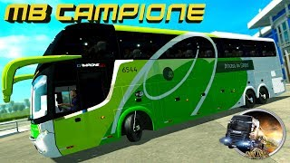 EURO TRUCK SIMULATOR 2 // DOWNLOAD !!! MOD BUS COMIL CAMPIONE HD 2013 // V1.25 À 1.27 x