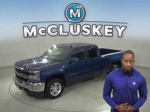 A16819GP Used 2016 Chevrolet Silverado 1500 Blue Double Cab Test Drive, Review, For Sale -