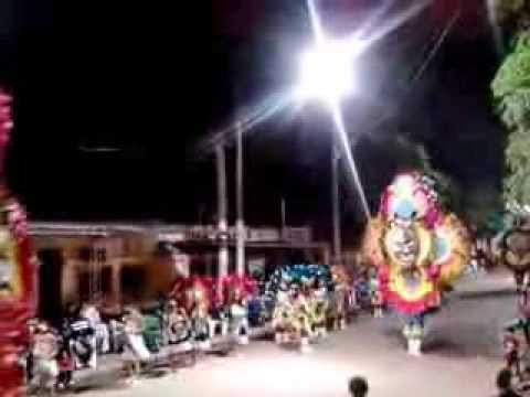 Comparsa Tobas Aguilas Rojas  Corso Color Tartagal 2014