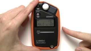 Sekonic L-308DC Quick Start Video: Custom Settings