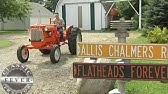 Allis Chalmers D12 Bush Hogging - YouTube