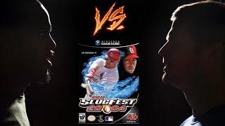 MLB Slugfest 2004 - Nintendo Gamecube - Retro Sports League - Tom vs Matt - Game 53