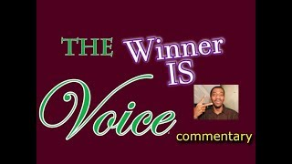 The Voice 2017 Winner Announed (commentary)