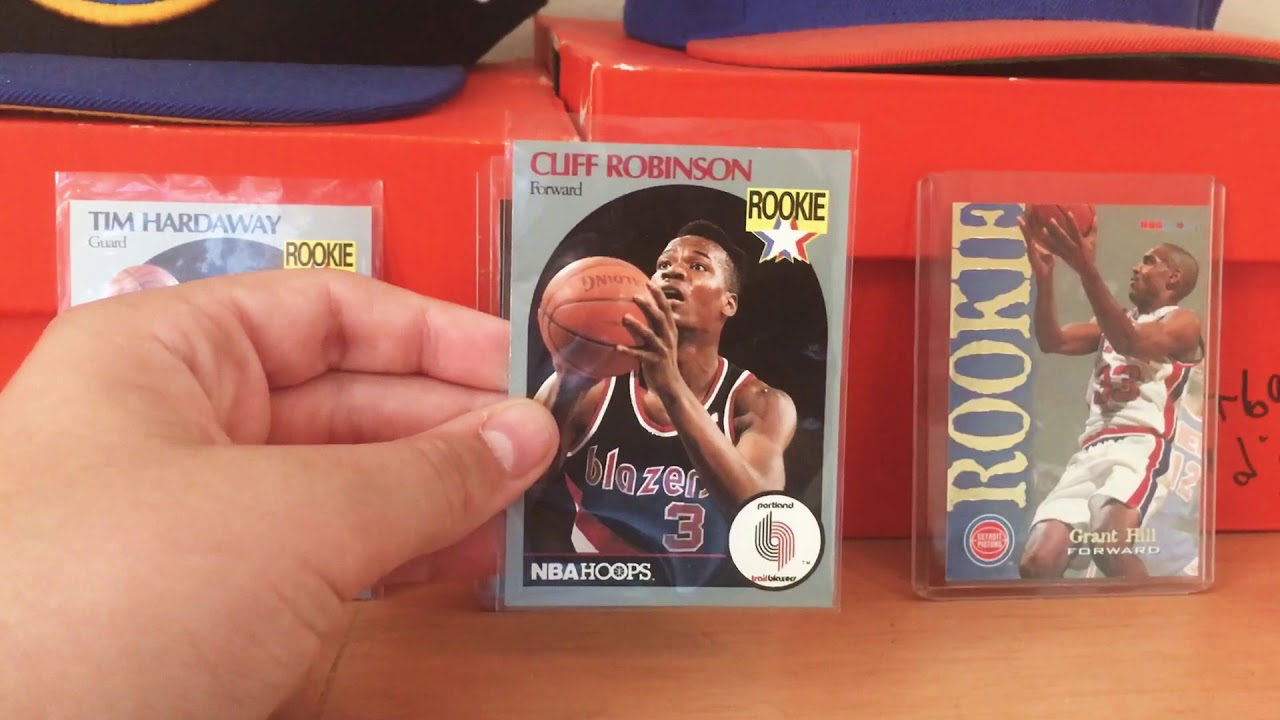 Cliff Robinson Rookie Card Review