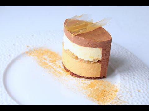 Муссовый торт Банан - Шоколадное Кремю / Banana Mousse Cake - Chocolate Cream