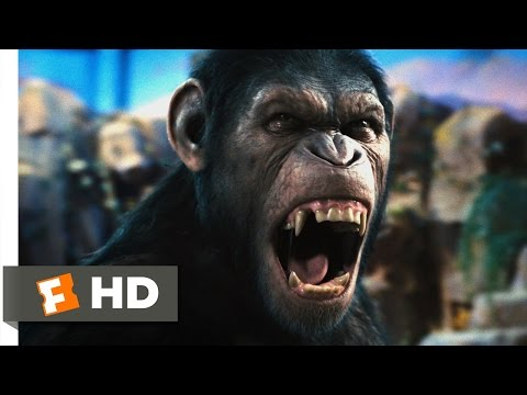 Rise of the Planet of the Apes 1/5 Movie   Caesar Speaks 2011 HD