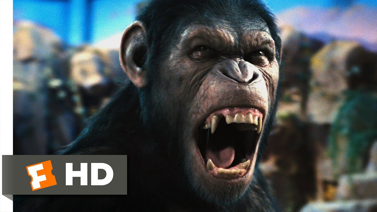 Rise Of The Planet Of The Apes 2011 Caesar Speaks Scene 1 5 Movieclips Youtube