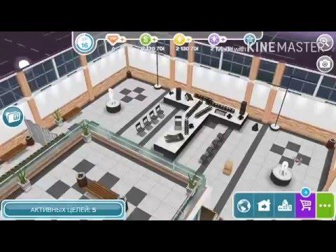 Lp. The Sims Freeplay #16 Торговый центр Заря!