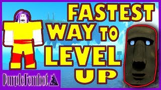 FASTEST way to LEVEL up and UNLOCK MOJOS! (Roblox Booga Booga)