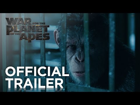 War for the Planet of the Apes   Official Trailer [HD]   20th Century FOX
