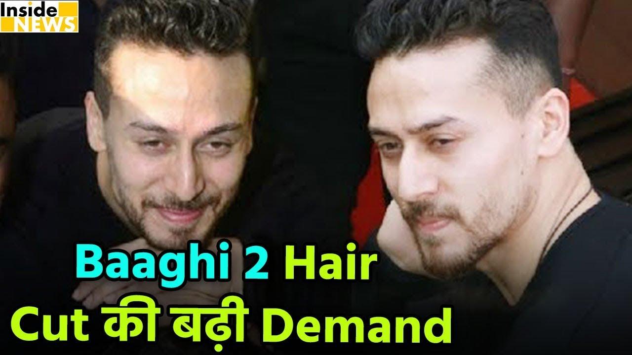 Baaghi 2 Tiger Hair Cut