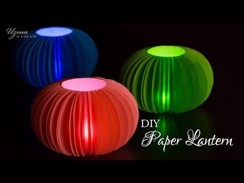 DIY Diwali Decoration Ideas | Paper Lantern | Lampshade