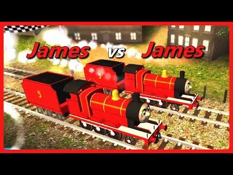 Thomas & Friends: Go Go Thomas!  James VS James