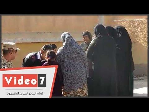 اليوم السابع : سيدات حدائق القبة يواصلن الزحف للجان الاقتراع من أجل الإدلاء بأصواتهن