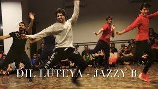 Dil Luteya - Jazzy B| Dance Cover | Rohan Pherwani | Choreography | Bhangra Swag