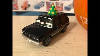 Disney Cars Alexander Hugo With Party Hat Review