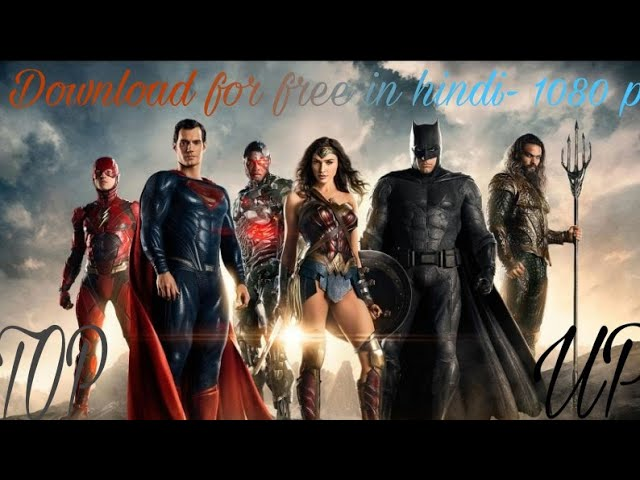 Download Justice League in 1080p in hindi for free
