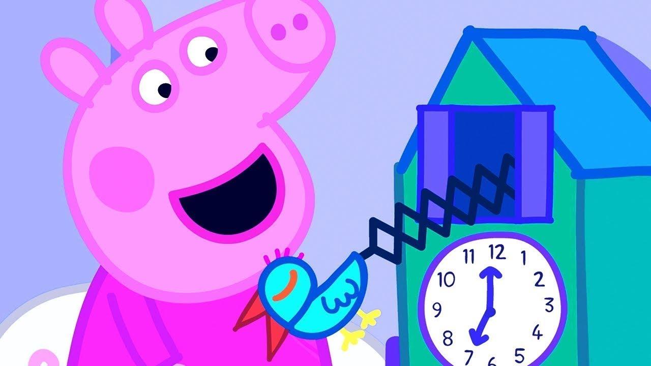 Peppa Pig Italiano - L'orologio a cucu'   - Collezione Italiano - Cartoni Animati