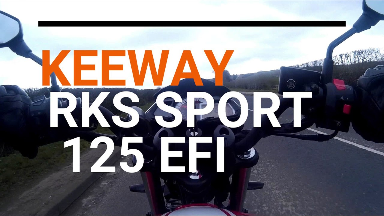 Keeway RKS 125 Sport On Board