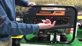 электрогенератор Firman RD 3910