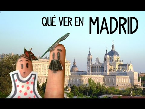 Tourism Madrid, sightseeing. Top places in Madrid