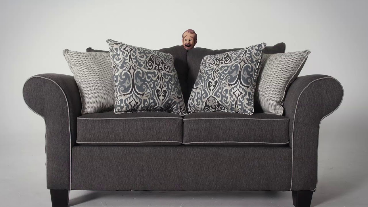 Ashton Sofa Loveseat Combo Bob S Discount Furniture Youtube