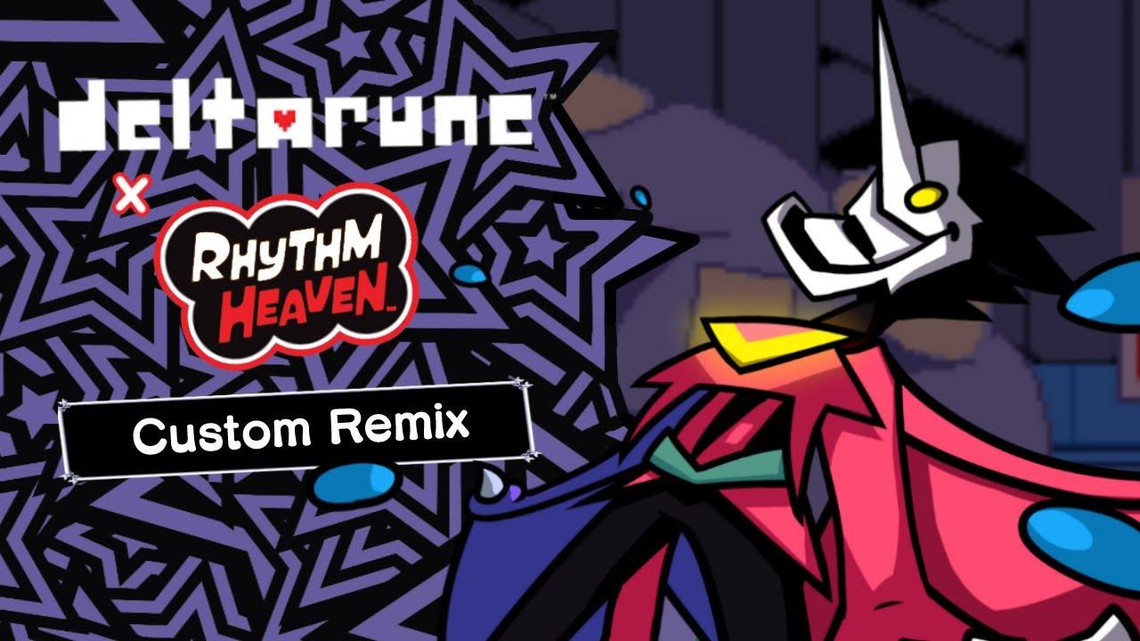 Rhythm Heaven Custom Remix: BIG SHOT (DELTARUNE Chapter 2)