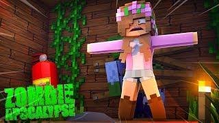 WILL LITTLE KELLY SURVIVE? Minecraft Zombie Apocalypse