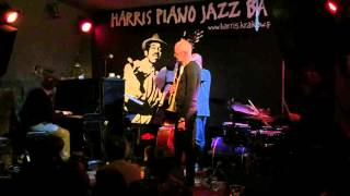 Blue Monk: P. Schmidt, W. Niedziela, A. Kowalewski, D. Fortuna at Harris Piano Jazz Bar Krakow