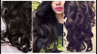 20mins Heatless Big Glamorous Curls|Using Fingers|
