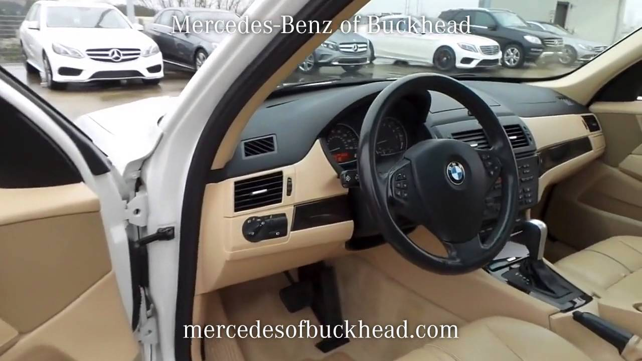 Sold used 2007 bmw x3 3 0si at mercedes benz of buckhead for Mercedes benz of buckhead
