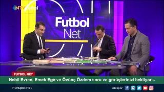 [CANLI] Nebil Evren, Emek Ege ve Övünç Özdem Futbol Net'te sizlerle...