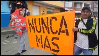 Granadinos también marcharon en defensa de la vida de los líderes sociales