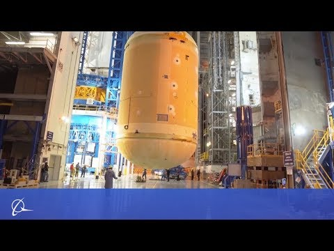 Boeings all in progress on NASAs Space Launch System for the Artemis I mission