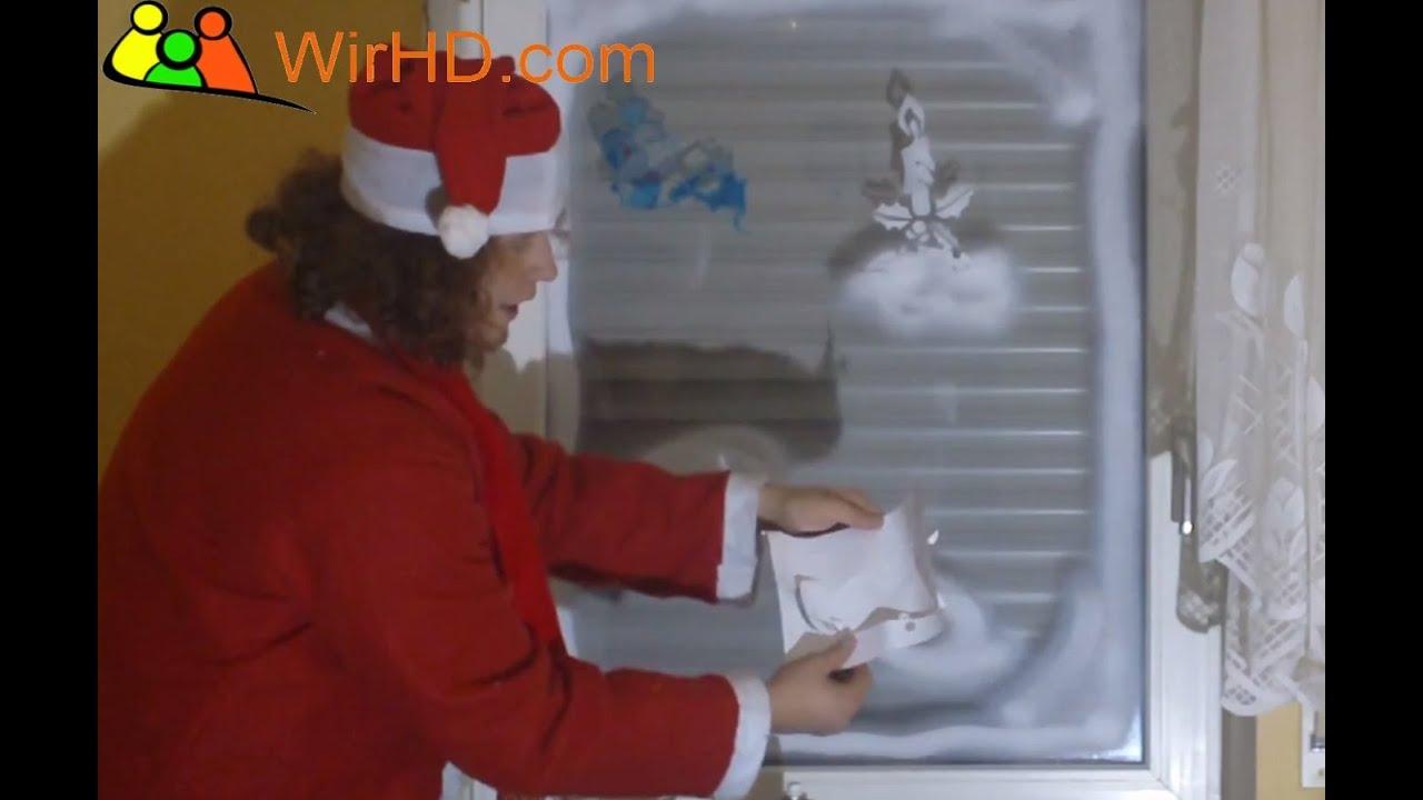 Dekoration weihnachten advent schneespray fensterspray - Weihnachtsstern dekorieren ...