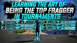 Learning The Art of Being the Top Fragger in tournaments | Feat New IPHONE XR.