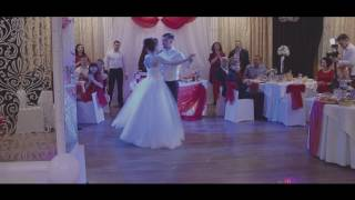 Волшебный свадебный вальс Вячеслава и Юлии