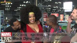 Tommy Davidson, Kym Whitley, and Byron Minns Make the Marvel Skybox Laugh at NYCC 2014