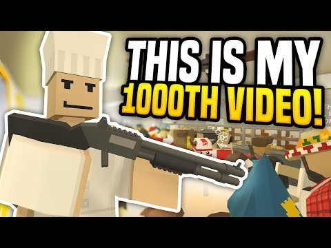 1000TH VIDEO SPECIAL - Unturned Roleplay | Running The Bakery!