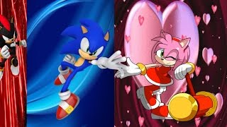 Repeat youtube video Sonic the Hedgehog  and Amy the Hedgehog play London 2012 games