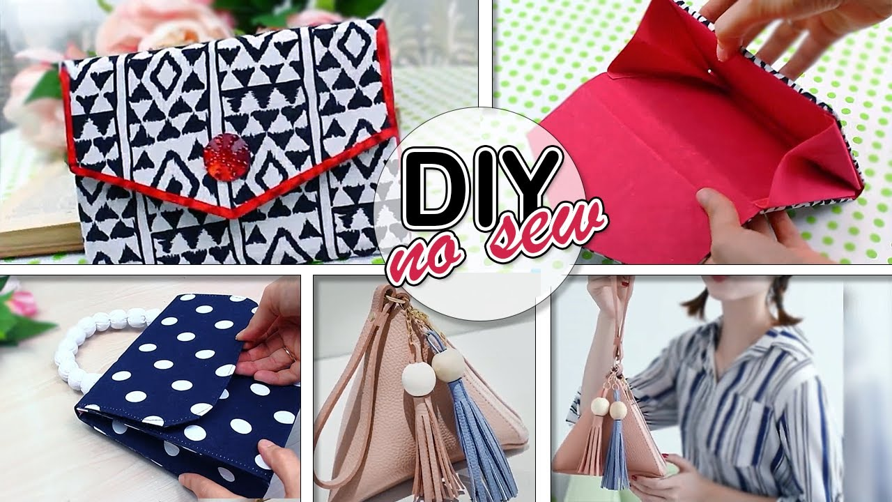 ‼DON'T OUT THE OLD CLOTHES 😍 RECYCLE IT CUT & SEW FANCY BAG IDEAS 10 MIN MAKING