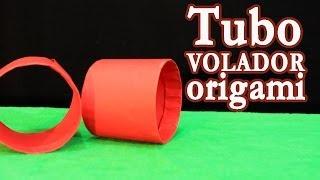 Tubo volador  │ Origami