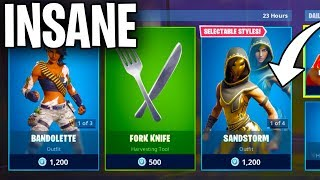 Le SANDSTORM SKIN est INSANE.... (FORTNITE ITEM SHOP COUNTDOWN)