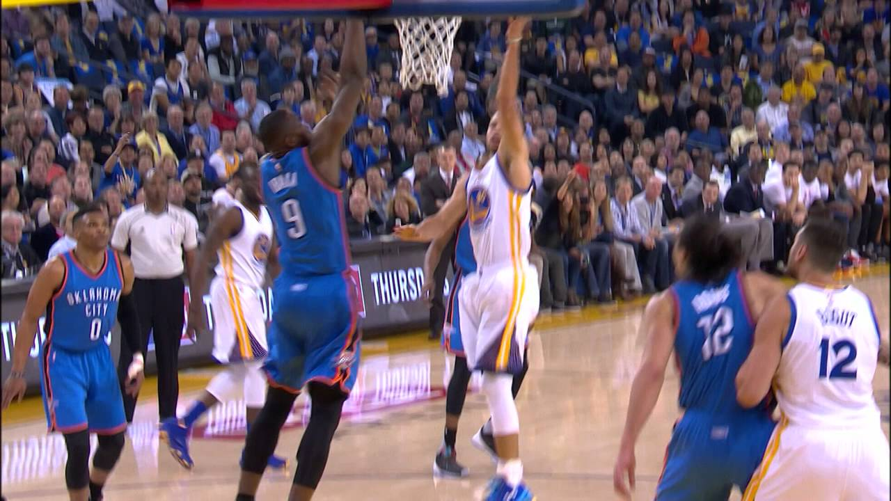 422cf7fe6a80 Stephen Curry Puts The Moves On Durant And Scores! - YouTube