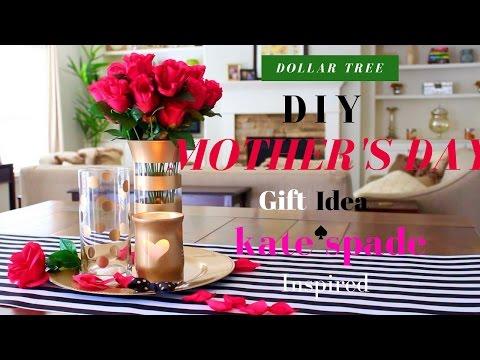 KATE SPADE DIY DECOR | DOLLAR TREE ROOM DECOR