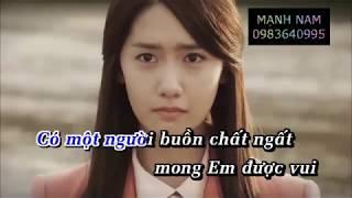 Hôm Qua Tôi Đã Khóc - Karaoke Hà Thái Hoàng