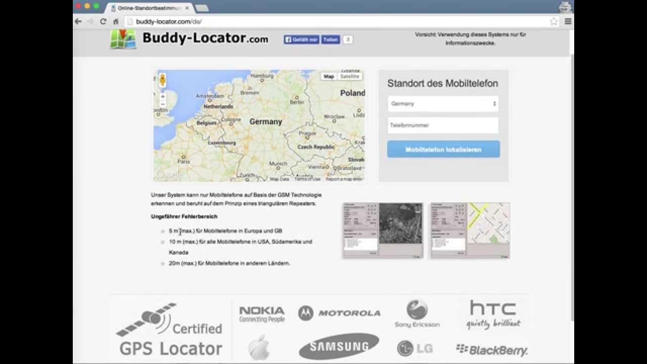 Standortbestimmung: So funktioniert die Handy-Ortung