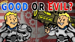 Brotherhood of Steel - GOOD or EVIL