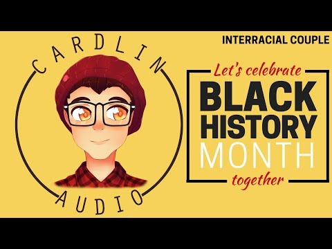 ASMR Roleplay: Let's celebrate Black History month! [Interracial couple] [Cute/Funny]