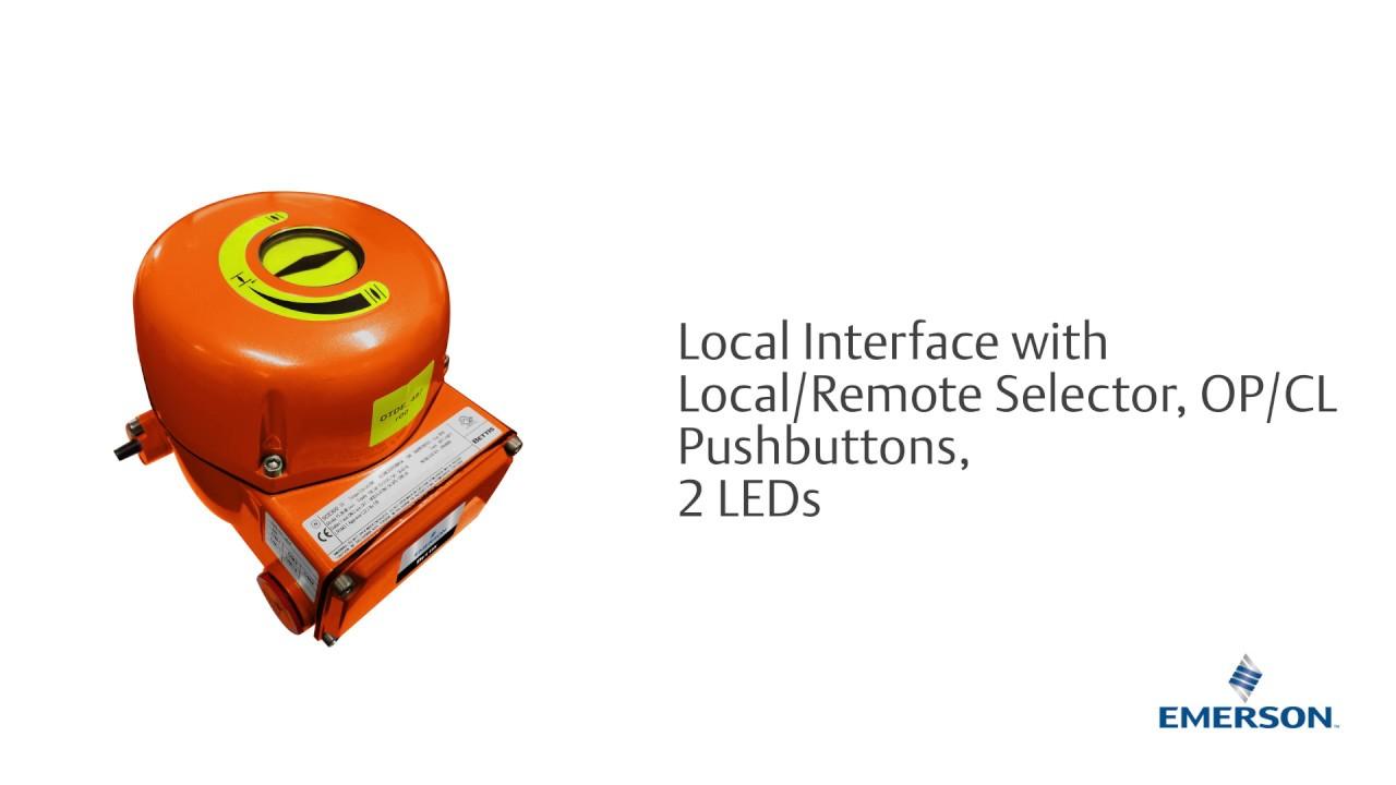 Bettis SCE300 Smart, Compact Quarter-Turn Electric Actuator